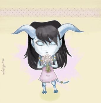 Little Draenei by AmberDragon93