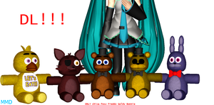 MMD FNAF Plush Dl!!!! by yaekmg