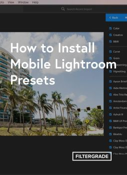 How to Use Lightroom Presets on Your Phone by filtergrade