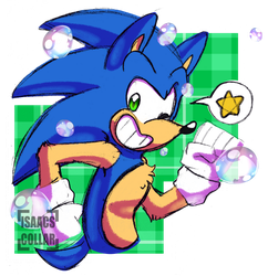 Let's Blast Through With Sonic Speed! by Isaacs-Collar