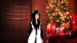 Wallpaper Organizer Magic Christmas Rukia by LuhaBiha