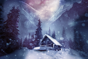 Winter in the Mountains by Shann2j