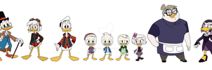Duck Who Cast by WinterPower98