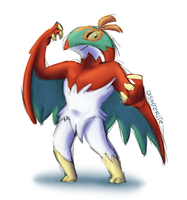 Hawlucha by Disasterite