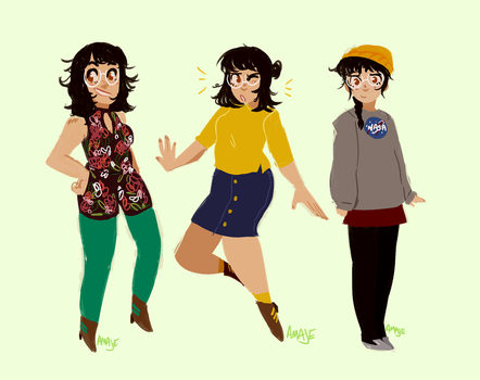 ootds by ama-je