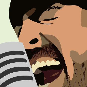 Dave Grohl - Foo Fighters by legsley