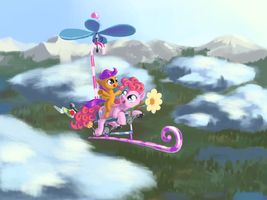 We can fly! by Cannibalus