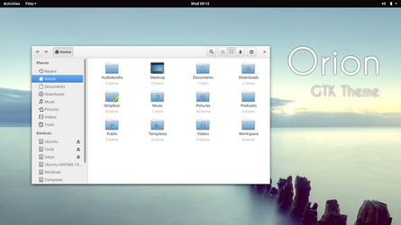 Orion - GTK3 Theme by satya164