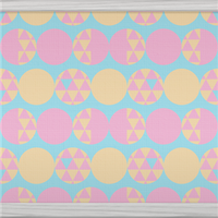 Circles And Triangles (pink) by Rosemoji