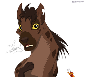 Say NO to hyena-shaming by Pouasson-de-oro