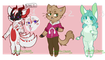 50 - 60 points | Anthro Adopts *on hold* by FafiixAdopts
