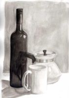 Tonal Still Life by Alecat