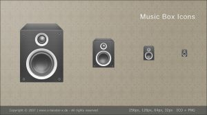 Music Box Icon Packet by basstar