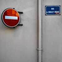 Rue du Boulet Rouge by Pierre-Lagarde