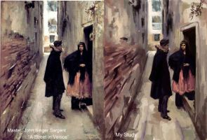 Master Study: A Street In Venice (Sargent) by TheObliviousOwl