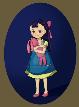 Adoptable: grumpy girl by lalabell