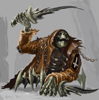 HEROD Skeleton fiend by SLabreche