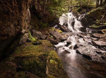 Nameless Falls by RawPoetry