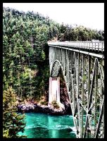 Deception Pass Bridge by YourFavoriteDRUG