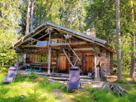 Our summer cottage by KariLiimatainen