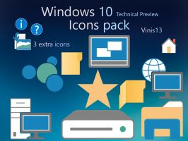 Windows 10 Icons by Vinis13
