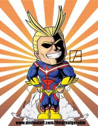 AllMight by The-Great-Geraldo