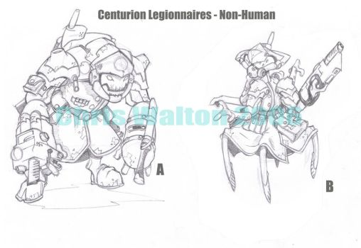 Centurion Legion concepts 2 by cwalton73