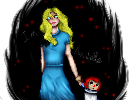 My name is Annabelle~ by Knife-Girl
