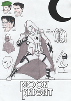 Moon Knight REDESIGN by Julalesss