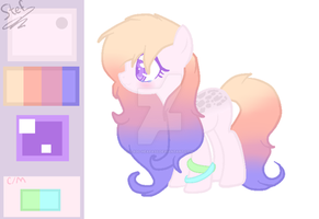 MLP OC - OTA #5 - pastel pone [CLOSED] by lookitsromii