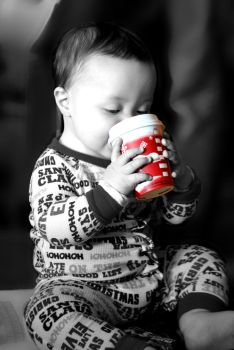 Baby's First Starbucks by marie-nelson1994