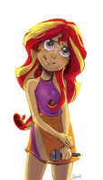 Sunset Shimmer by theZeo