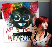 Art Is The Weapon by Mirish
