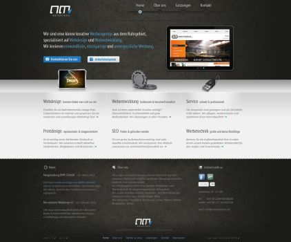 nm solutions - weblayout update by toupmoe