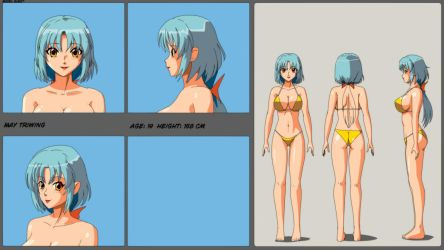 May Triwing: Model Sheet by wbd