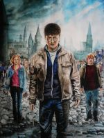 Harry Potter and the Deathly Hallows: Part 2 by Nathalief87