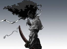 Afro Samurai by geowarriors20