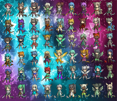 SUPER CHEAP 30 POINT ADOPTABLES 3 (52/54 OPEN) by Cute-Adopts-For-All
