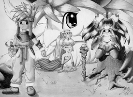 Secret of Mana - Seiken ... by femto