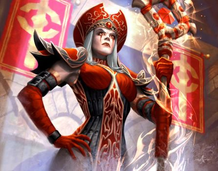 High Inquisitor Whitemane by AlexGarner