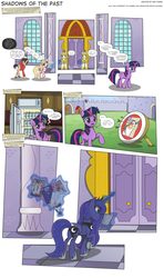 MLP:FiM - Shadows of the Past #31 by PerfectBlue97