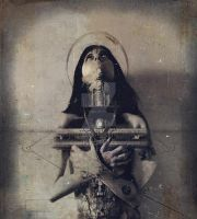 The Morgue of Saints by absumaniac