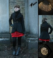 Victorianesque military coat by masque242