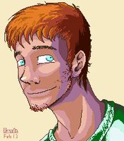 Petros - Avatar pixel art v2 by HRandt