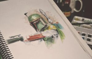 Star Wars/Boba Fett by LeticiaRusch