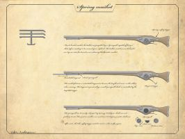 Spring musket concept by VV01