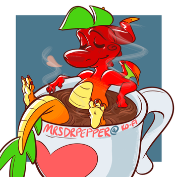 THAT'S HOT - ko-fi by MrsDrPepper