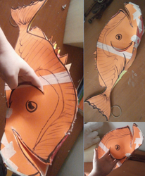 HTTYD Hiccup Cosplay - Fish by UnicornsInTheDryer