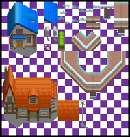 Nuvema Town Tileset by UltimoSpriter