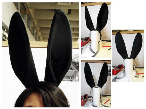 Simply Black Bunny Ears by Havenaims